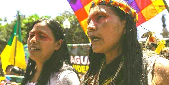 Indigenous Women Protest, credit: Jonatan Rosas, Mongabay