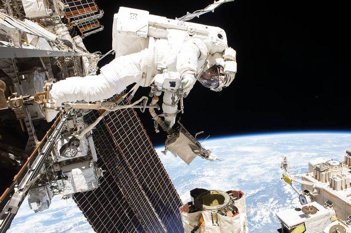 International Space Station, credit: NASA