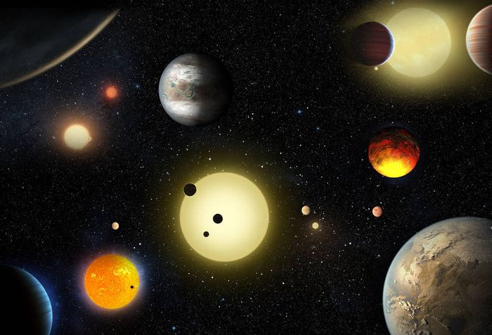 NASA announces that the Kepler mission has found over 1,284 exoplanets throughout the galaxy.