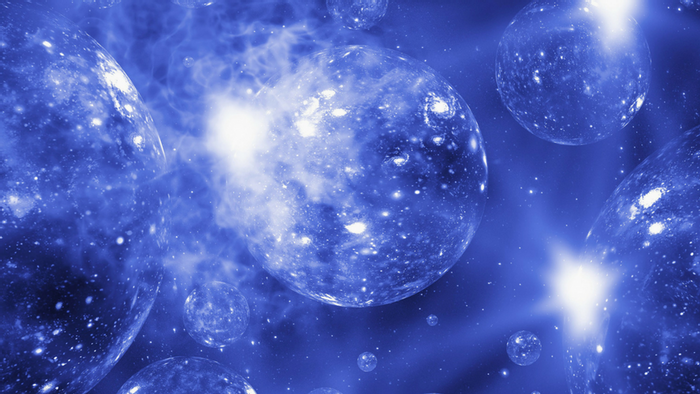 An artist's rendition of the concept of the multiverse (Mehau Kulyk/Science Photo Library)