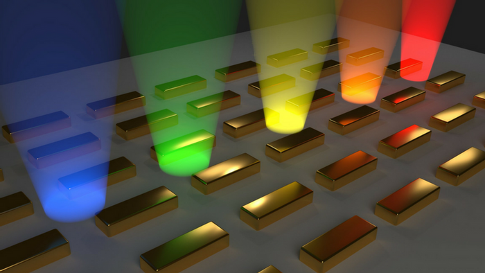 A Bose-Einstein condensate emerging when an energy minimum of the lattice is reached. Credit: Aalto University/T. Hakala & A. Paraoanu
