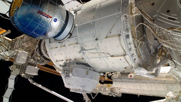 BEAM inflatable module is being sent to the ISS by NASA.