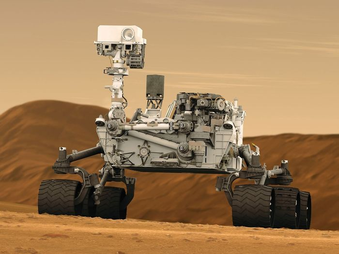 NASA's Curiosity rover is equipped to handle Mars exploration.