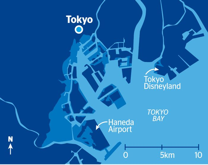 Sea level rise will greatly impact Tokyo. Photo: The Japan TImes