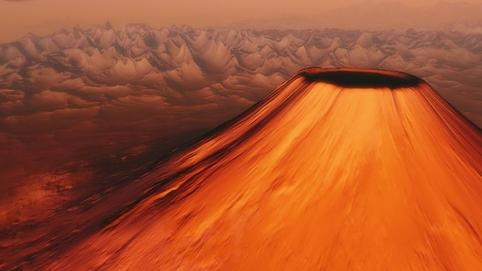 Do volcanoes extend the habitable zone for exoplanets by as much as 60%?