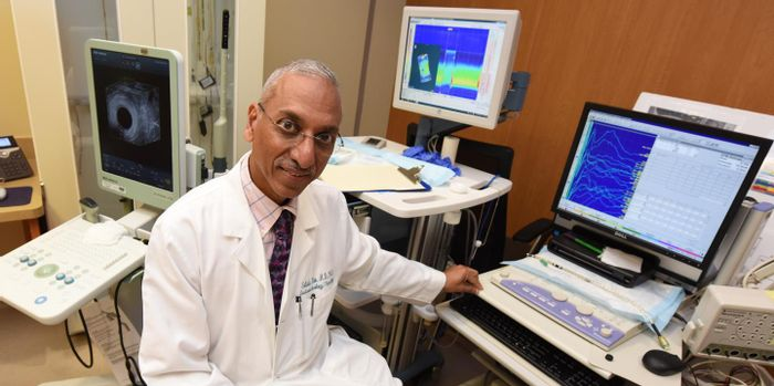 This is Dr. Satish S.C. Rao, director of neurogastroenterology/motility and the Digestive Health Clinical Research Center at the Medical College of Georgia at Augusta University. / Credit: Phil Jones, Senior Photographer, Augusta University