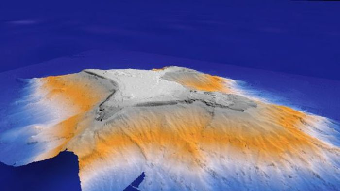 Tropic Seamount in all its glory. Photo: NOC