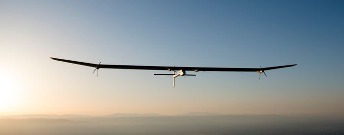 Solar Impulse 2 has taken off for Dayton, Ohio this weekend.