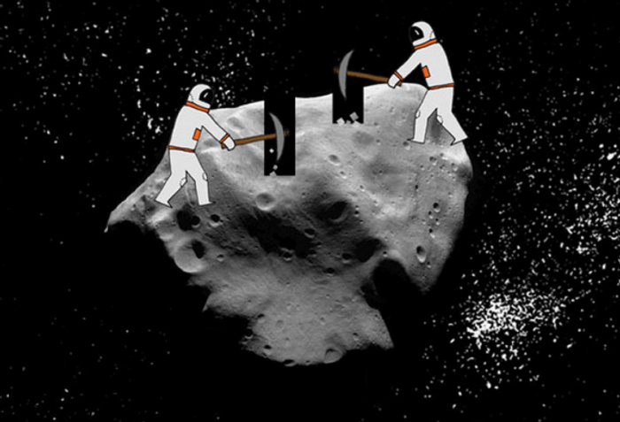Space mining could be the next big thing of the future.